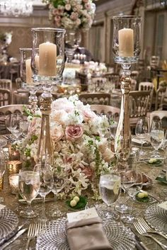 Table Arrangements & Venue Decorations