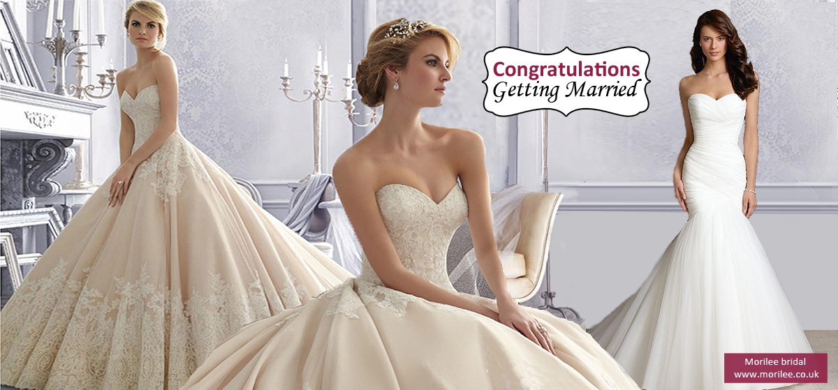 Morilee bridal - Congratulations Getting Married
